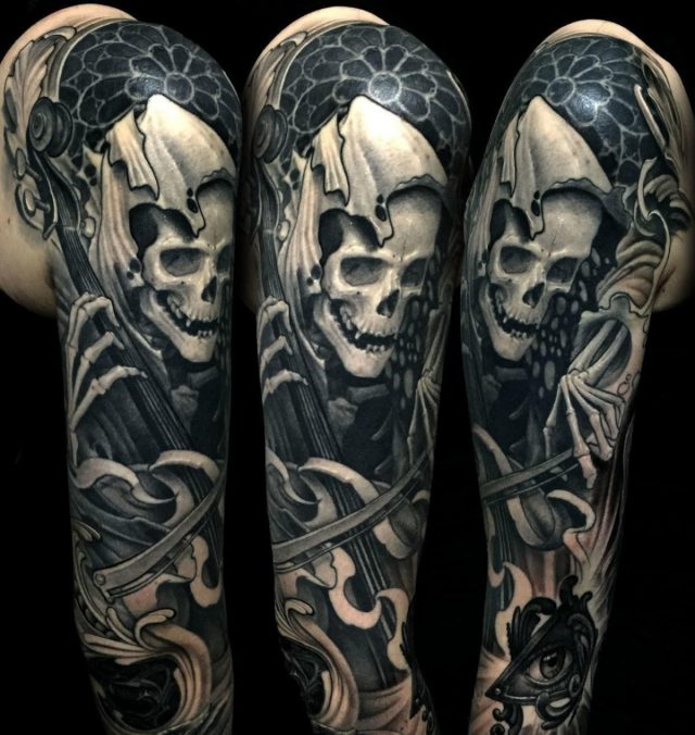 Julian Siebert Corpsepainter Tattoo Munich Germany 082