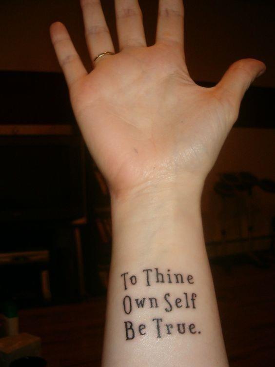 Kind Self Love Tattoos