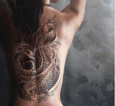 Large Asian Tattoos