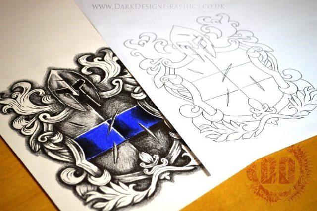 Law Enforcement Tattoo Design