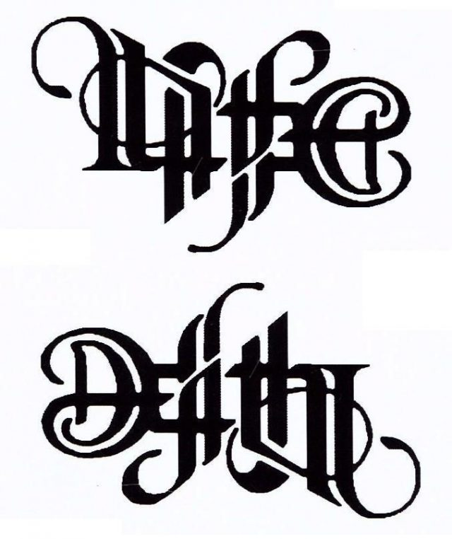 Life Death Tattoo Design 1
