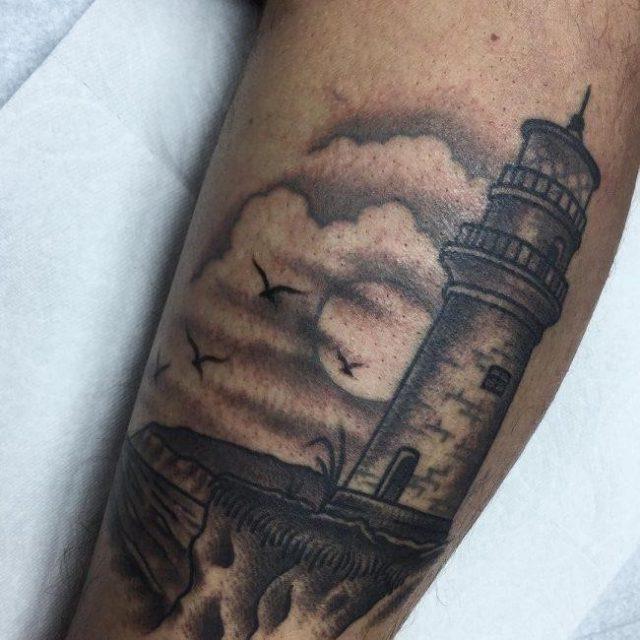 Lighthouse Tattoo 19 650×650