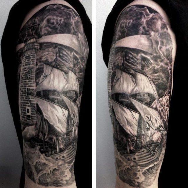 Lighthouse Tattoo 23 e1503298133711 650×650