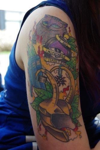 Lin Kat Doctor Who Supernatural Tattoo 333×500