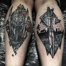 Lord of the Rings Tattoo 12