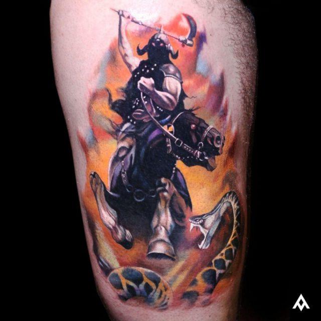 Luka Lajoie Artrock Tattoo Montreal Canada 068
