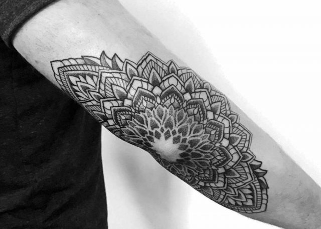 Mandala Tattoo 1