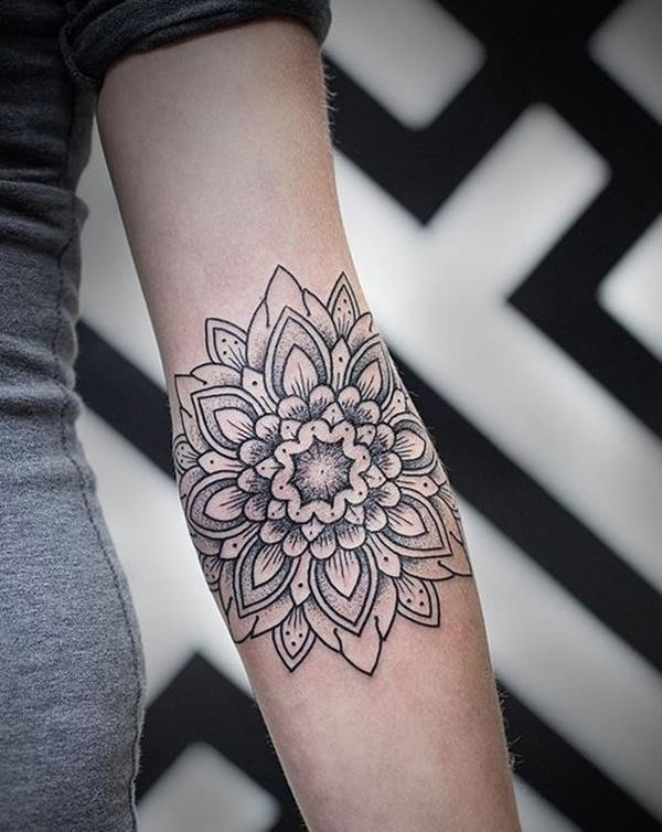 Mandala tattoo designs 24