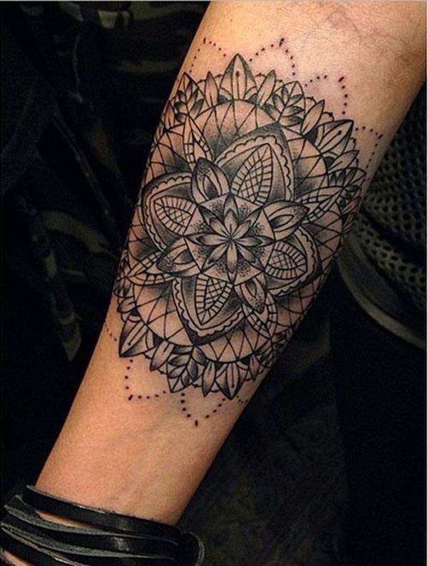 Mandala tattoo designs 41