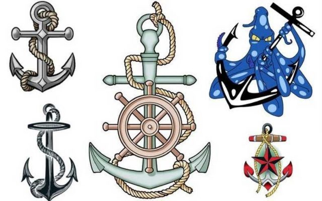 Maritime and nautical tattoos