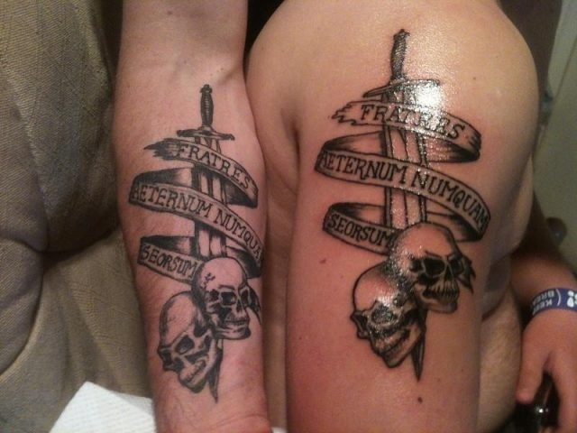 Matching Brother Tattoo Ideas