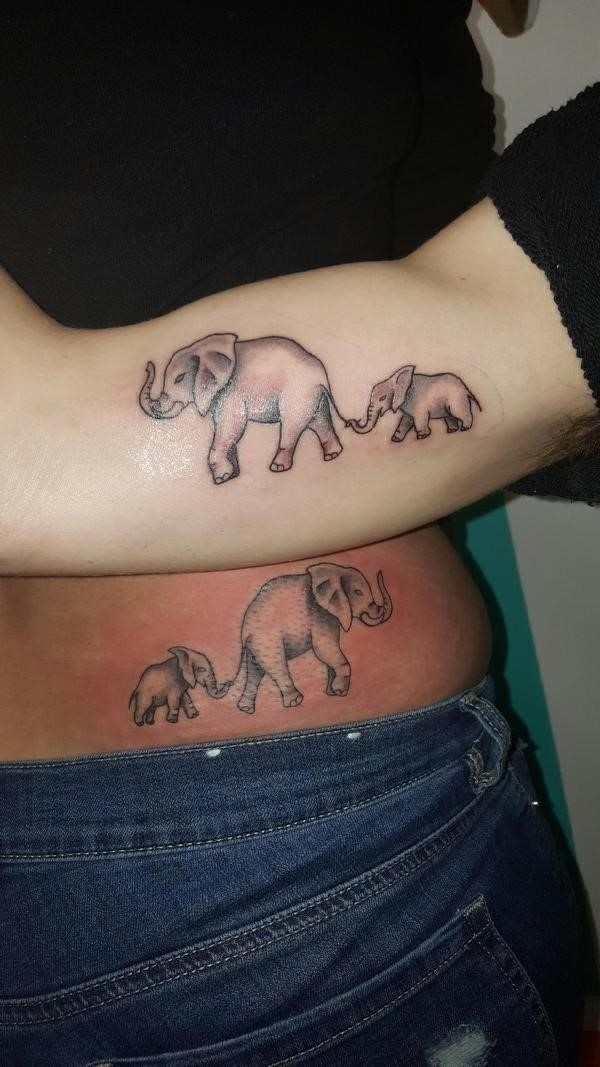 Matching Mother Son Tattoos