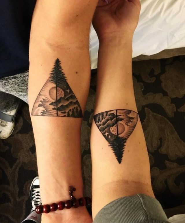 Matching Tattoos Brother and Sister