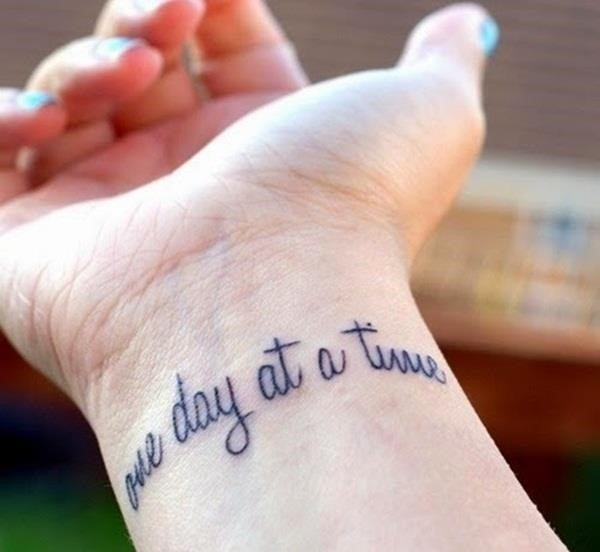 Meaningful Quote Tattoo Designs 59