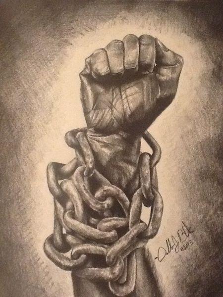 Meaningful Tattoos Black art LONGING FOR FREEDOM BLACK ART IN AMERICA