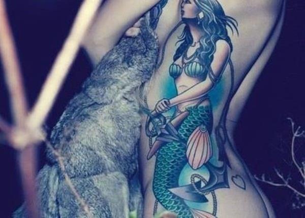 Mermaid Tattoo 16