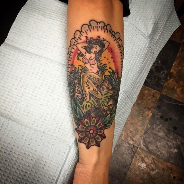 Mermaid Tattoos  19