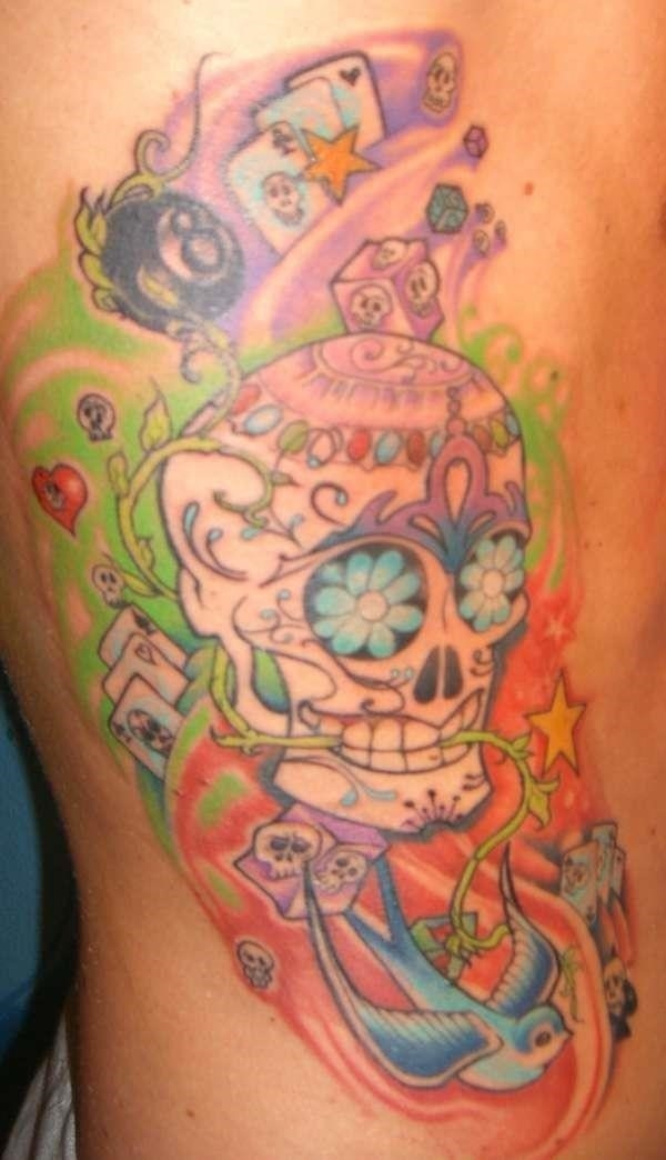 Mexican Candy Side tattoo tattoo 107274