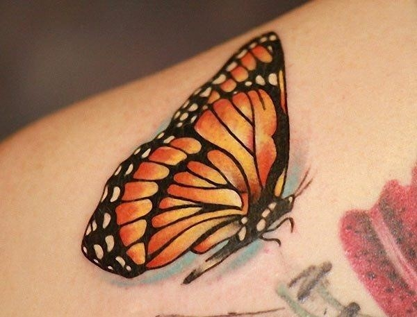 Monarch butterfly tattoo designs 1