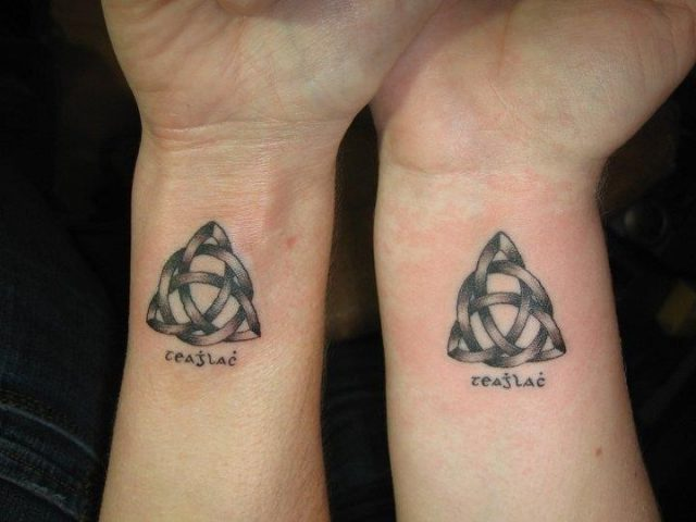 Mother and Son Matching Tattoo Ideas