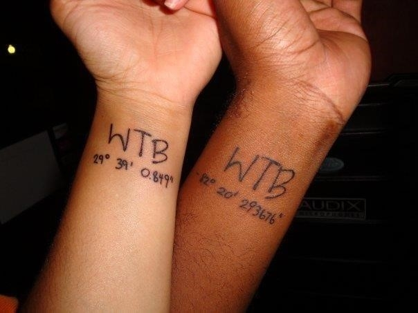 Mother and Son Matching Tattoos Images