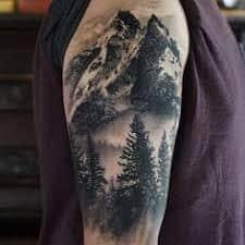 Mountain Tattoos 19