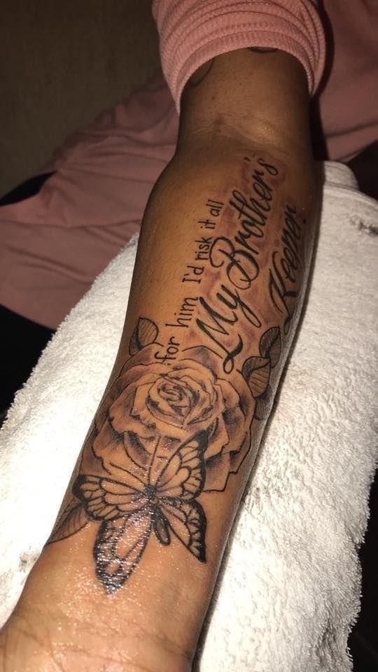 My Brothers Keeper Tattoo women 01