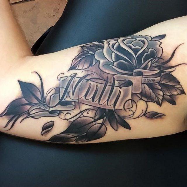 Name Tattoo  14