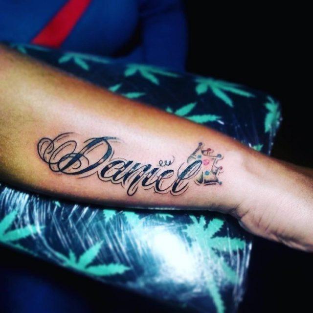 Name Tattoo  16