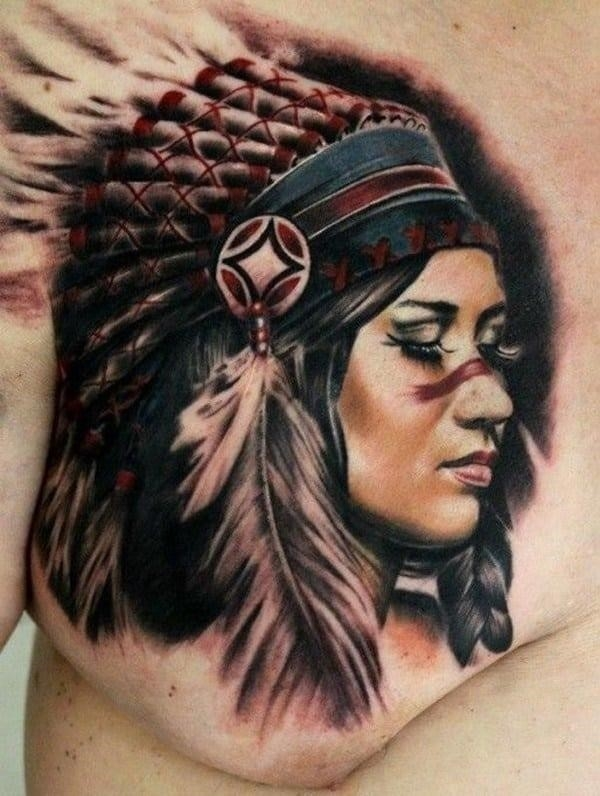 Native American Tattoos 63