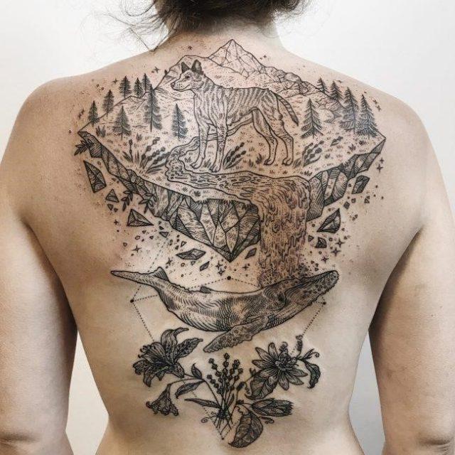 Nature Tattoo 106 650×650