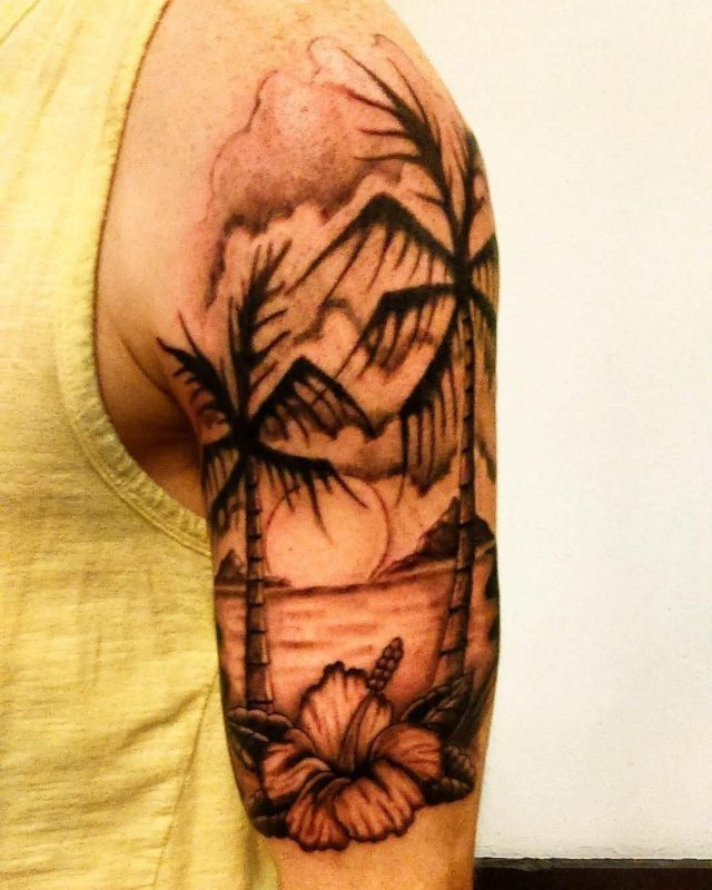 Nature Tattoo for Men