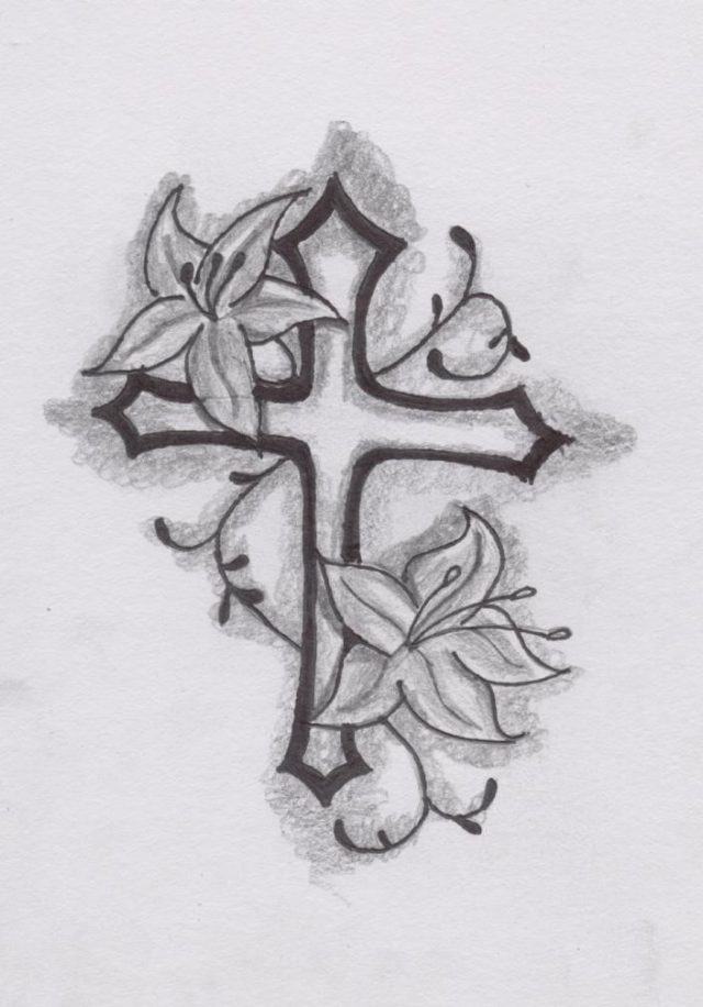 Nice Cross Tattoo Idea