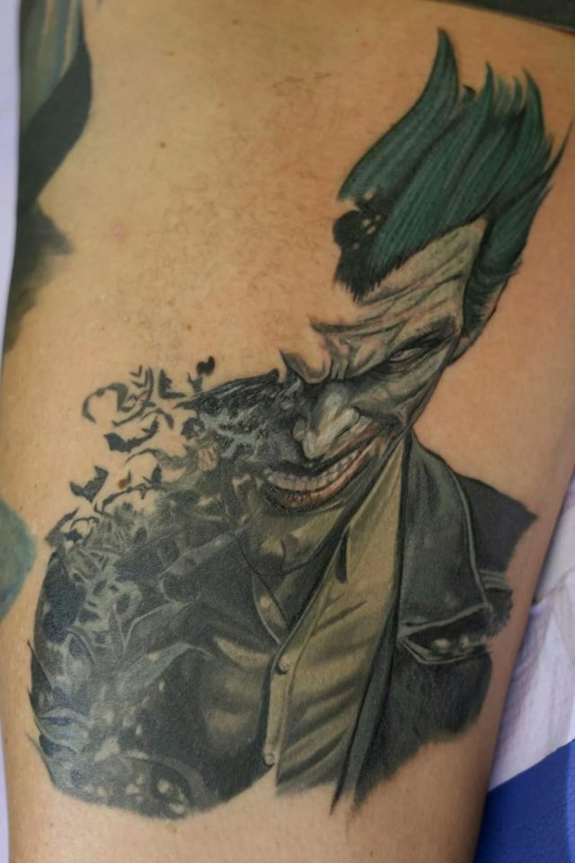 Nice Joker Tattoo