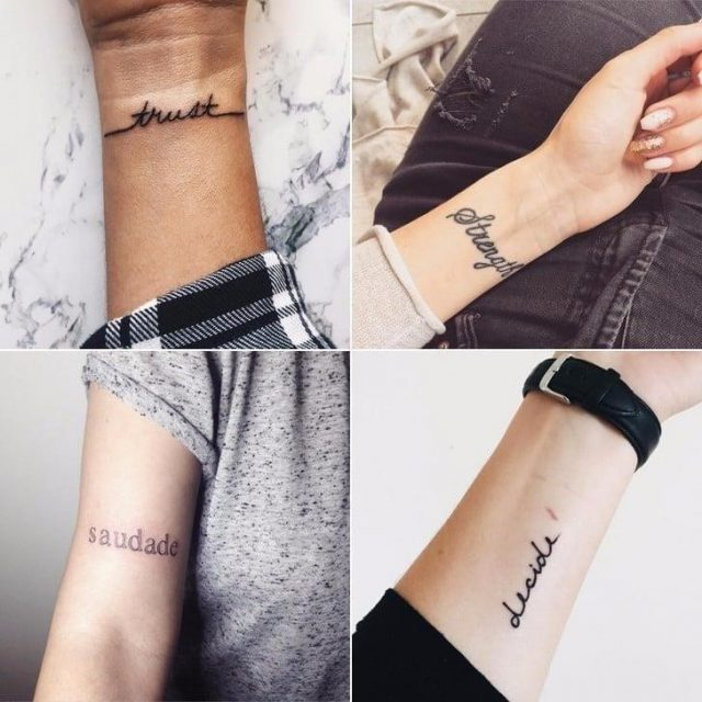 One Word Tattoos