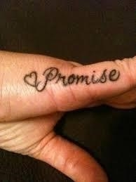 Pinky Promise Tattoo Meaning 31