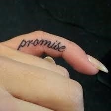 Pinky Promise Tattoo Meaning 36