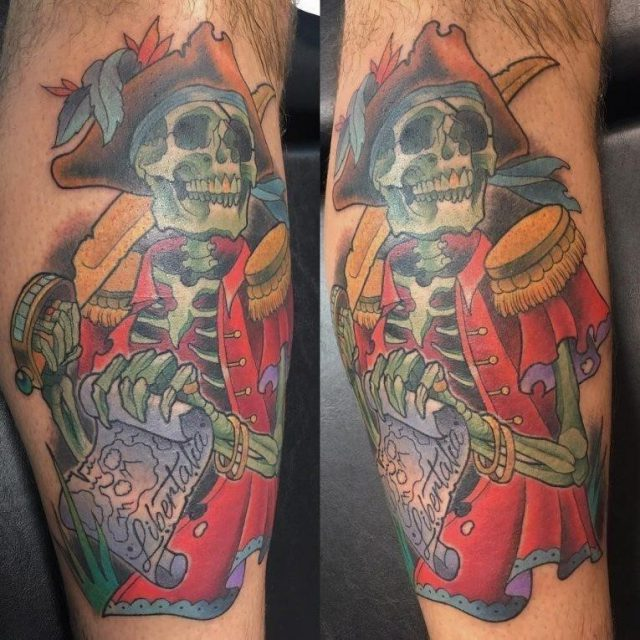 Pirate Tattoo 70 765×765