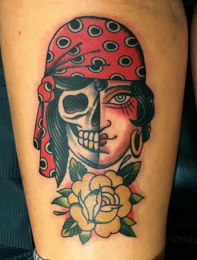 Pirate Tattoo  13