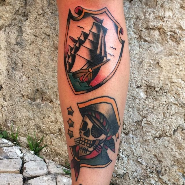 Pirate Tattoo  16