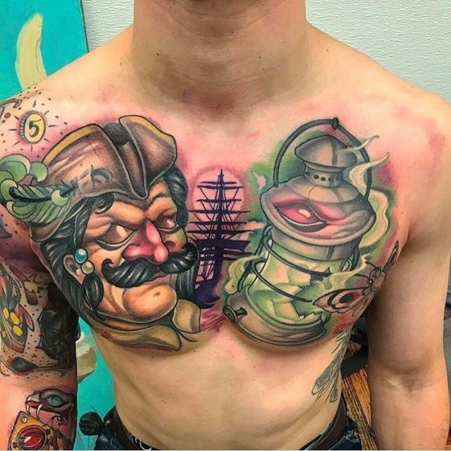 Pirate Tattoo  2