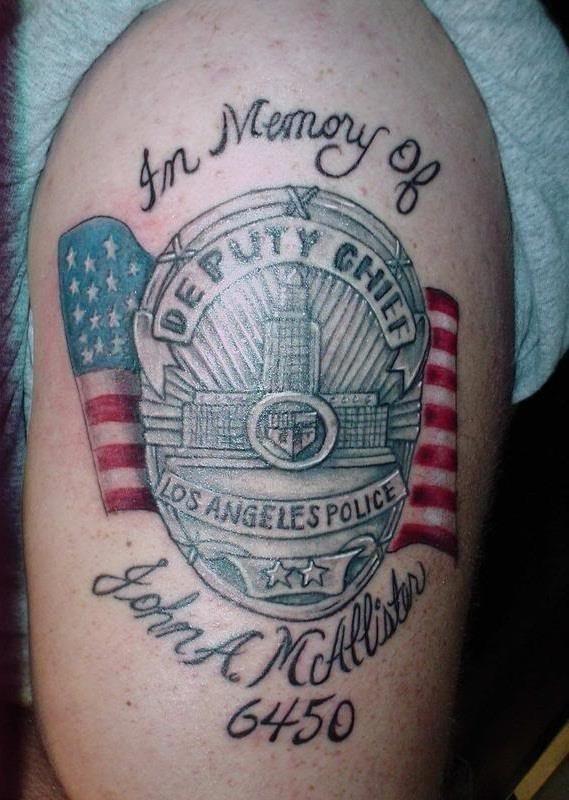 Police Tattoo Ideas
