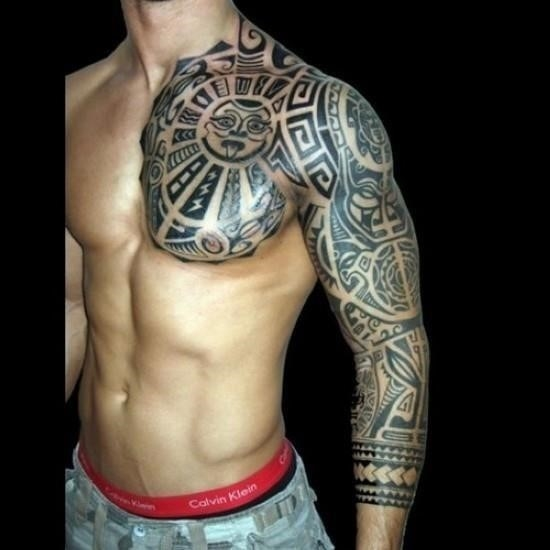 Polynesian Hawaiian Tattoo