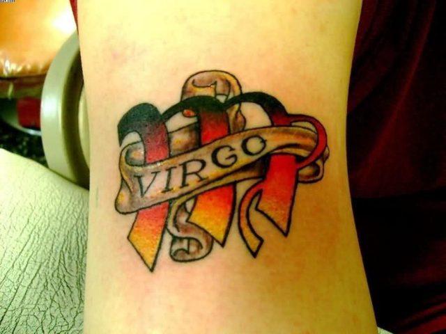 Popular Virgo Tattoo Picture