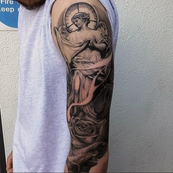 Powerful religious tattoo Designs to Try 23