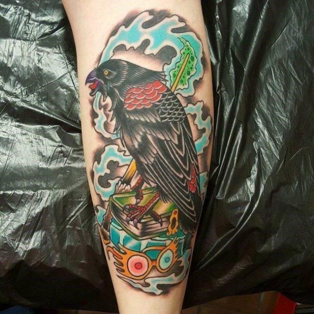 Raven tattoo  2 650×650