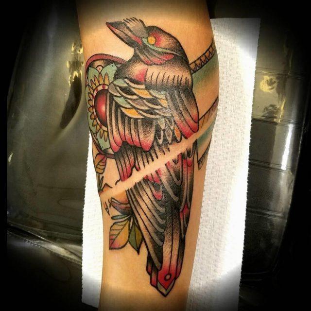 Raven tattoo  6