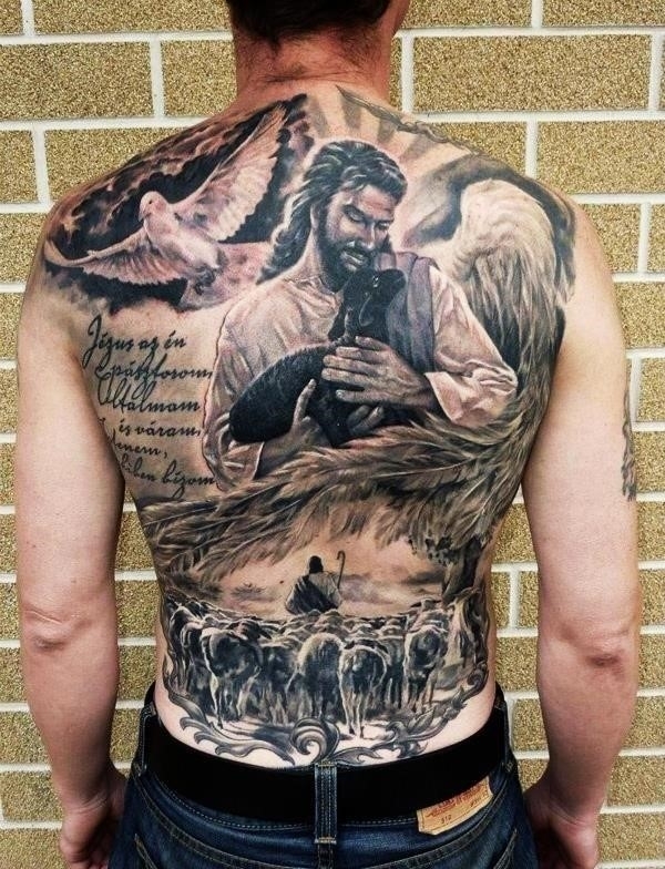 Religious Christian Tattoo Designs with Deep Meaning1