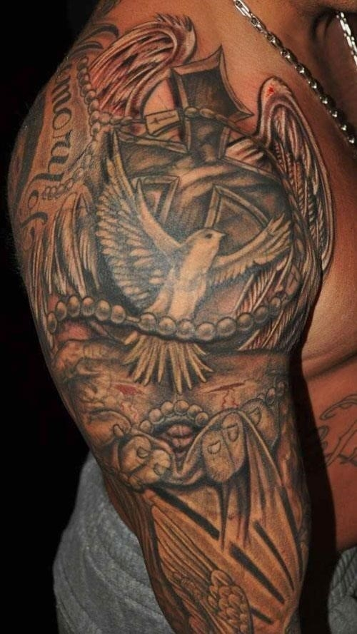 Religious Christian Tattoo st4345