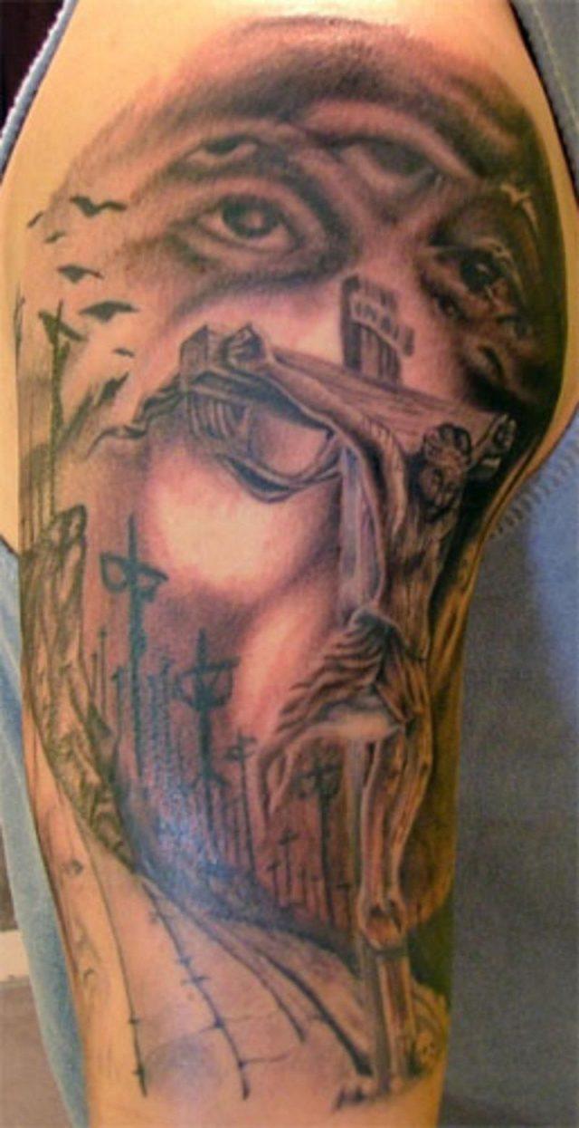 Religious Tattoo Sleeves